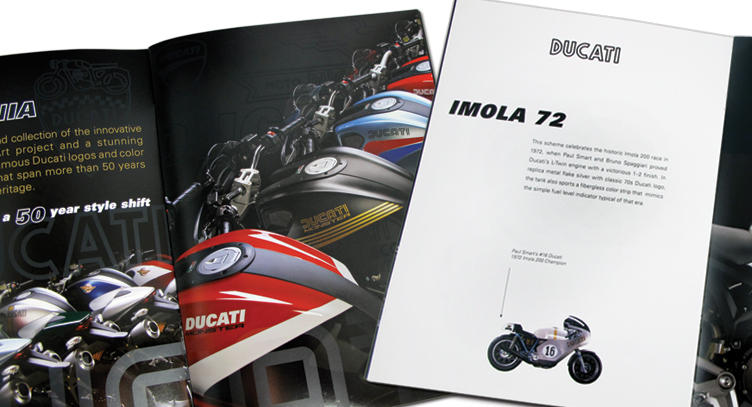 Ducati Monster Marketing Collateral